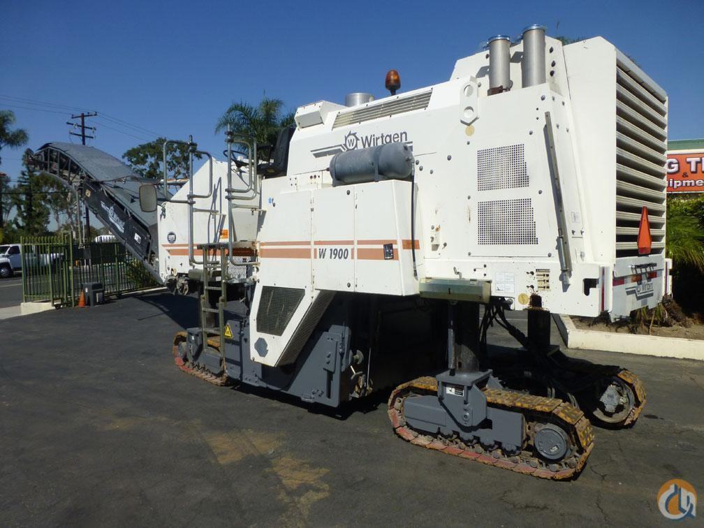 2005 WIRTGEN W1900 Asphalt  Pavers  Concrete Equipment WIRTGEN W1900 Big Truck amp Equipment Sales LLC 18908 on CraneNetwork.com